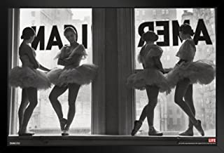 Pyramid America Time Life Ballet Dancers Photo Black Wood Framed Art Poster 14x20