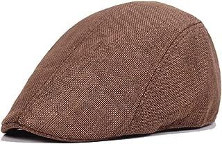 Xiang Ye Newspaper hat Beret Cap autumn winter simple cotton linen beret spring and autumn men's breathable caps