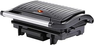Grill électrique multifonction Grille-viande Presse à paninis Appareil à Sandwich Barbecue de table 29x24,5x11cm 1500W