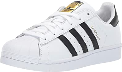 Amazon.com   adidas Superstar Shoes Kids', White, Size   Sneakers