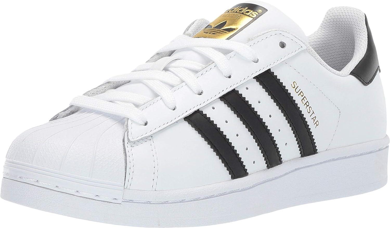 Amazon.com   adidas boys Adidas Superstar J White/Black C77154 ...