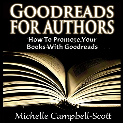 Goodreads for Authors audiobook cover art
