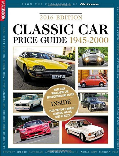 Classic and Performance Car Price Guide 2016 by Octane (2016-04-21)
