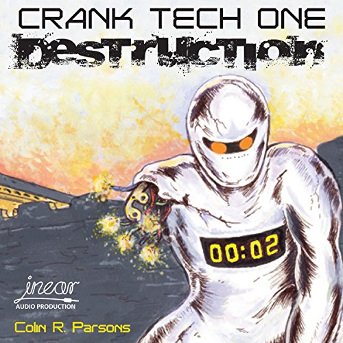 Crank Tech One audiobook cover art