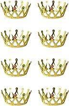 Royal Costume Accessorio Costume di Scena oro gioiello della corona del Principe Re Regina