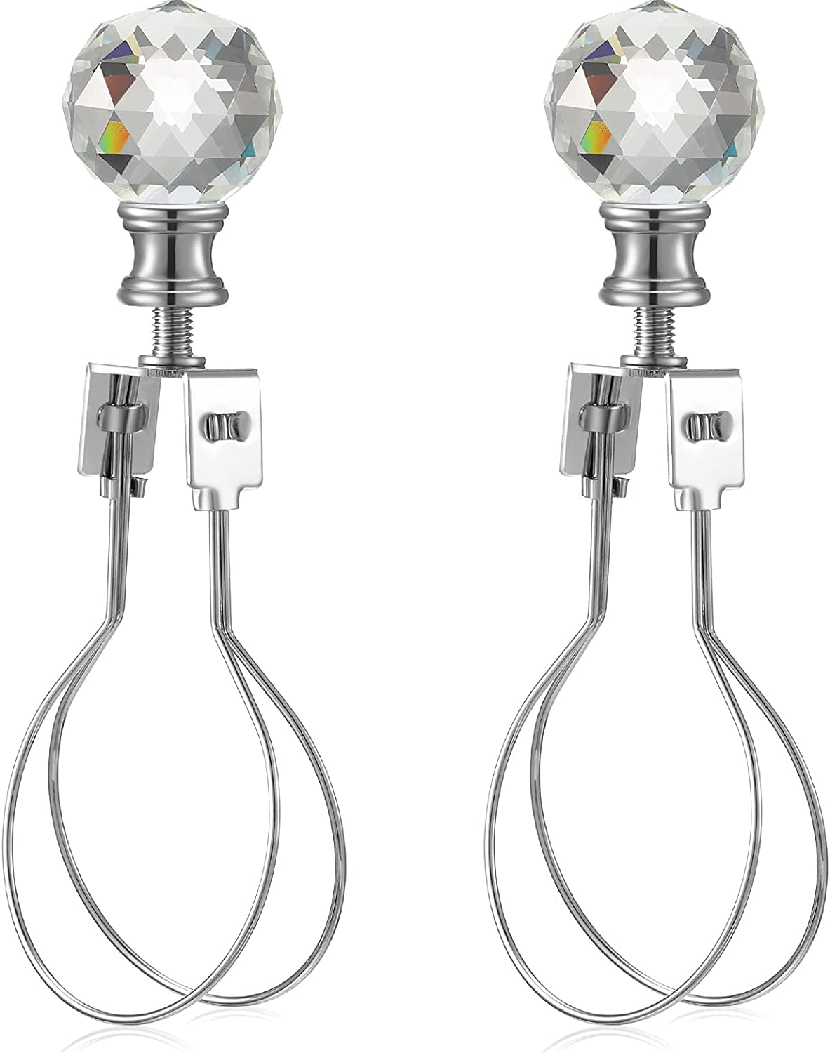 2 Pieces Lamp Shade Max Mesa Mall 65% OFF Light Bulb Fac Saddle and Clip with