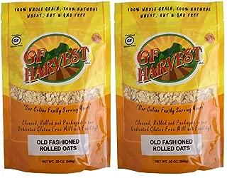 GF Harvest Gluten Free PureOats Rolled Oats, 20 Oz. Bag, 2 Count