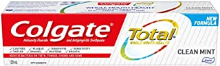 Colgate Total Clean Mint Anticavity Fluoride Toothpaste, 120 mL