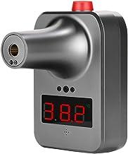 Wandgemonteerde contactloze infrarood-voorhoofdthermometer, digitaal lcd-scherm Automatische inductie IR-lichaamstemperatu...
