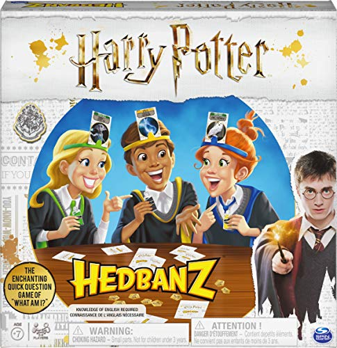 Spin Master Games HedBanz – Harry Potter Party Game for Kids