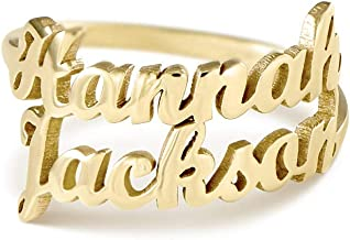Best 14k gold personalized name ring Reviews