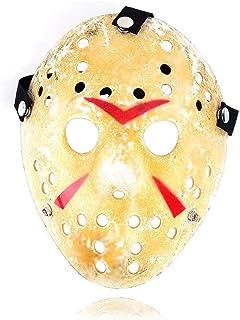 Newin Star Halloween Jason Mask Gold Vintage Jason Voorhees Freddy Hockey Festival Halloween Masquerade Party Mask