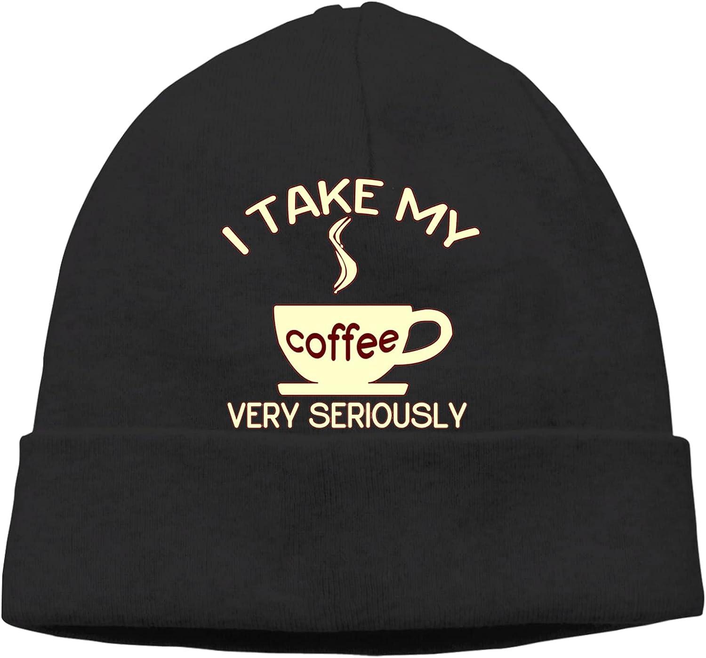 I 5 ☆ very popular Take My Coffee Jacksonville Mall Very Seriously Warm Slogan Beanie Unisex Cap Ha