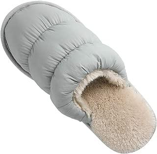 Women Fluffy Soft Plush Faux Bunny Fur Memory Foam Lightweight Warm House Slippers Open Toe Cute Flat Outdoor/Indoor Slip on Anti-Slip Gifts Slippers