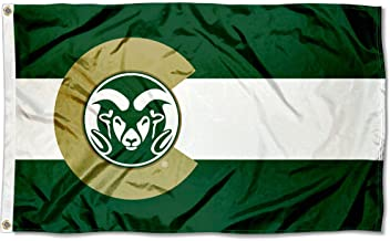 College Flags and Banners Co. Colorado State Rams State of Colorado Flag