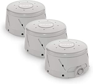 Yogasleep Dohm Classic (Gray) The Original White Noise Machine Soothing Natural Sound from a Real Fan Noise Cancelling Sleep Therapy, Office Privacy, Travel 3 Pack