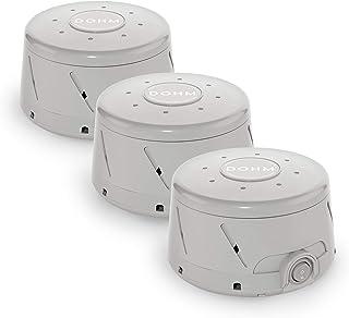 Yogasleep Dohm Classic (خاکستری) | دستگاه اصلی صدای سفید | صدای طبیعی آرامبخش از یک طرفدار واقعی | لغو سر و صدا | خواب درمانی ، حریم خصوصی دفتر ، سفر | 3 بسته