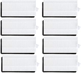 8PCS HEPA Filters Replacement Part for Ecovacs Deebot N79 N79S Robotic Vacuum Cleaner Vacuum cleaner accessories (Size : 8...