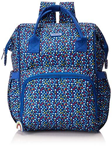 Tuc Tuc All In Enjoy - Mochila de maternidad y cambiador, niños, color azul
