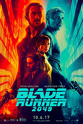 "BLADE RUNNER 2049 (Ryan Gosling, Harrison Ford) IMAX - Movie Poster - Size 24""x36"""