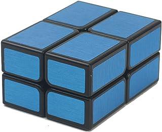 Magic Cube Puzzle, 2X2 specchio velocità adesivo cubo di puzzle 1.9X1.9X1.9cm colore rosso