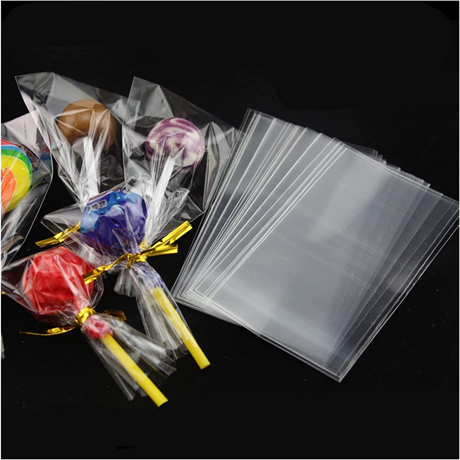 SHUKELE DAIZI823 200pcs Long Clear Open Bag OPP Limited price Cand Fort Worth Mall Plastic Top