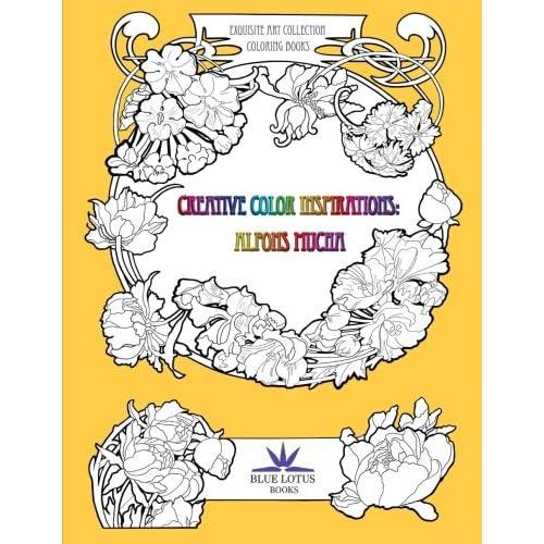 - Creative Color Inspirations: Alfons Mucha (Exquisite Art Coloring Book  Collection) (Volume 1): Zain, Da, Mucha, Alfons, Zain, Da: 9781523830220:  Amazon.com: Books