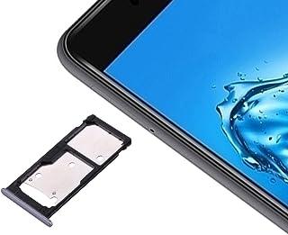Förnyelse Reparation för skärmskydd Ipartsbuy för Huawei Njut av 7 Plus / Y7 Prime SIM-kortfack & SIM/Micro SD-kortfacket...