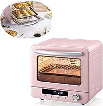 Horno eléctrico para hornear pasteles multifunción capacidad interna de pizza completamente automática de 20 litros Pequeño oculto mini tubo de calentamiento por microondas, pantalla digi.