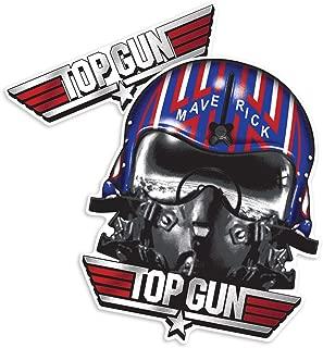 Popfunk Top Gun Maverick Helmet and Logo Collectible Stickers
