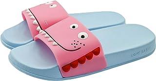 ChayChax Zapatillas de Baño para Niños Ligero Bañarse Chanclas de Casa Suave Zapatos de Playa y Piscina para Niña Niño,Azu...