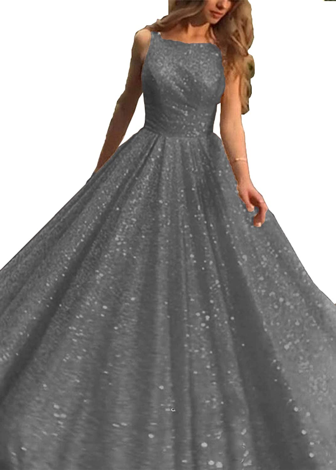 WIYMSHZ Gorgeous Prom Dresses 2019 Long Boat Neck Evening Party Ball Gown