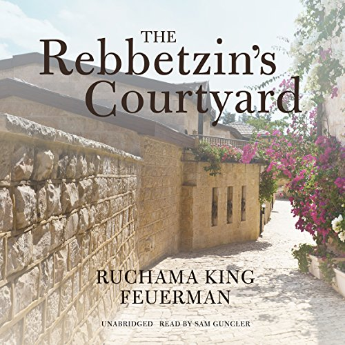 The Rebbetzin's Courtyard audiobook cover art