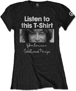 John Lennon Listen T-Shirt Femme
