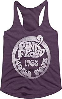Pink Floyd 1968 World Tour Junior Top Aubergine Heather
