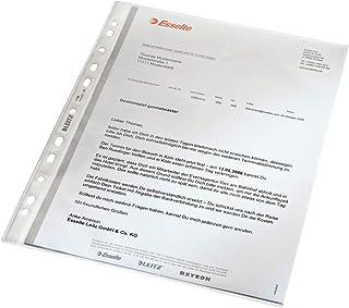 Esselte Leitz Standard, Document Wallet A4Grained Polypropylene Clear