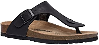 Women's Cushionaire Leah Cork footbed Sandal with +Comfort