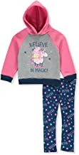 Peppa Pig Toddler Baby Girls Believe in Magic Fleece Hoodie Sweatshirt Legging Set