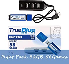 FenglinTech True Blue Mini Fight Pack for Playstation Classic - 32G - 58 Games