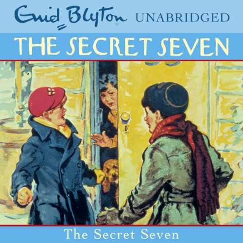 The Secret Seven audiobook cover art