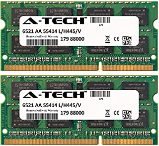 A-Tech 4GB KIT (2 x 2GB) For Toshiba Toshiba Satellite T135-S1305RD T135-S1305WH T135-S1307 T135-S1309 T135-S1310 T135-S1310RD T135-S1310WH T135-S1312. SO-DIMM DDR3 NON-ECC PC3-8500 1066MHz RAM Memory
