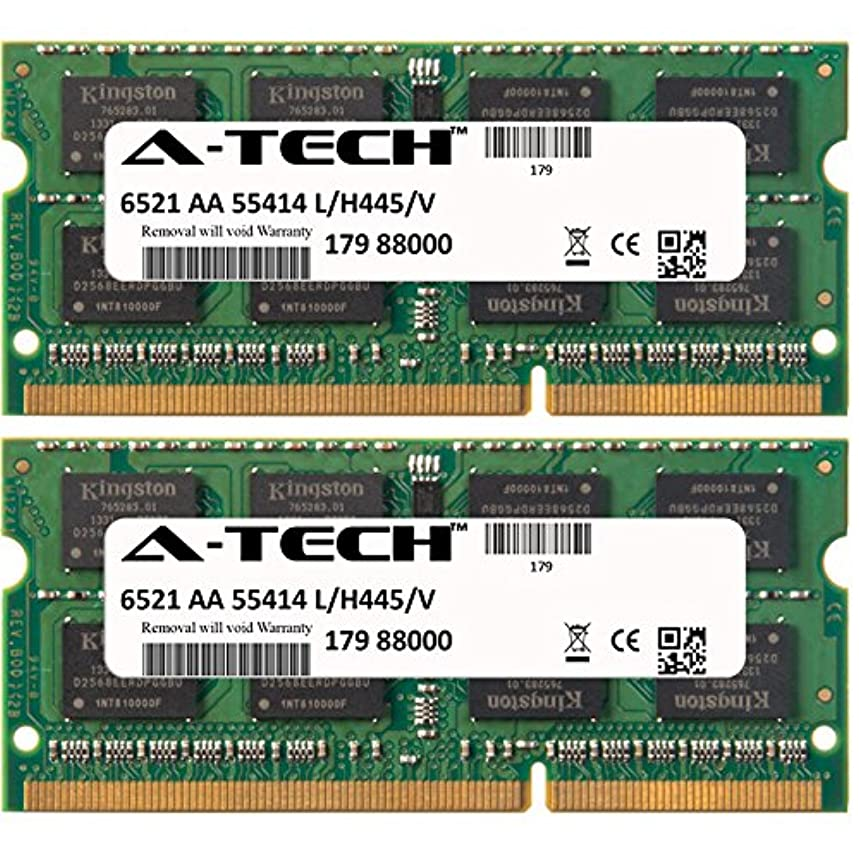 A-Tech 8GB KIT (2 x 4GB) For Toshiba Toshiba Satellite M645-S4062 M645-S4063 M645-S4065 M645-S4070 M645-S4080 M645-S4110 M645-S4112 M645-S4114 M645-S. SO-DIMM DDR3 NON-ECC PC3-10600 1333MHz RAM Memory