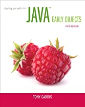 starting out with java early objects 5th edition