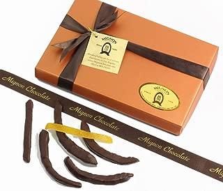 Mignon Chocolate Covered Orange Peels - Handmade Gourmet Dark Chocolate Candied Orange Peel