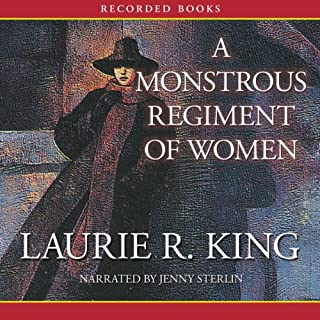 A Monstrous Regiment of Women audiobook cover art