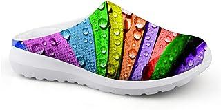 Sandalias con diseño de Hojas arcoíris, Unisex, para Adultos