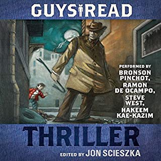 Guys Read: Thriller  audiobook cover art