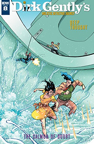 Dirk Gently: The Salmon of Doubt #8 (English Edition)