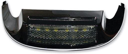 Custom Dynamics GEN-FT-WS LED Fender Tip Housing (Chrome/Smoke/White Front for 2014-2016 Harley-Davidson Road King and Ultra Models)