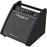 Roland PM-100 Compact Electronic V-Drum Set Monitor, 80-Watt